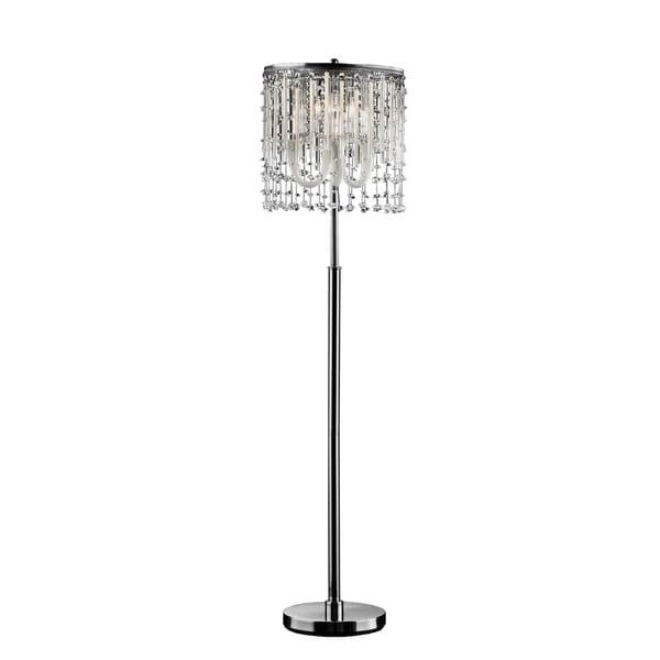 Shop Ok Lighting Fairy Mist Crystal Floor Lamp Free
