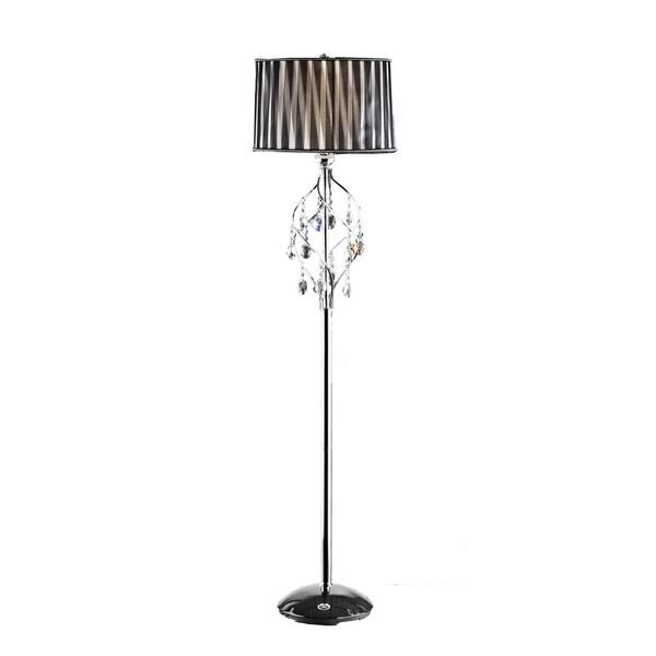 Ok Lighting Lady Crystal Floor Lamp