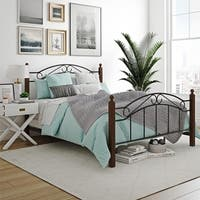 Avenue Greene Kami Queen Wood and Metal Bed
