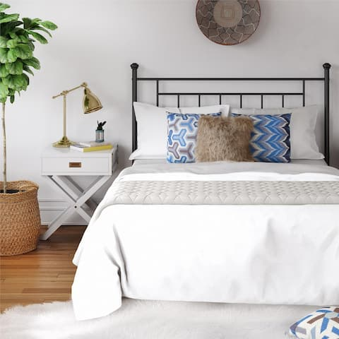 Avenue Greene Jalen Full/ Queen Metal Headboard