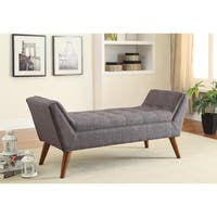Carson Carrington Gavle Retro Upholstered Tufted Bench