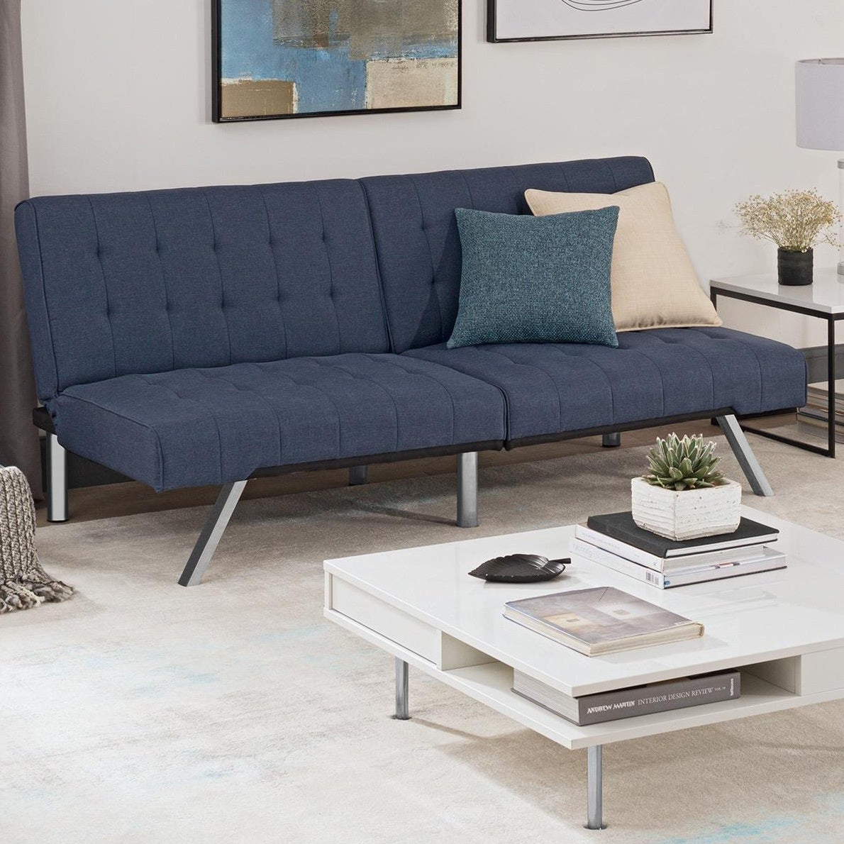Buy Blue Modern Contemporary Sofas Couches Online At