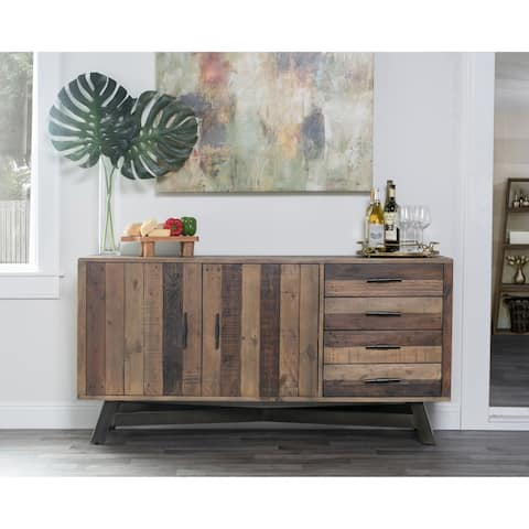 Carbon Loft Karl Reclaimed Wood 65-inch Sideboard