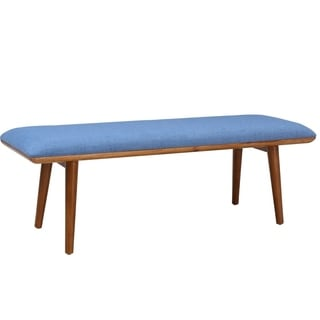 Shop Porthos Home Robin Mid Century Accent Bench Free