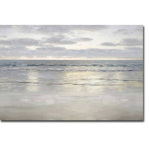 Sunlight on the Sea by Christy McKee Gallery Wrapped Canvas Giclee Art