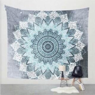 Bohemian Handmade Tapestry Snowflake Wall Hanging Blanket Beach Towel 180 X 230cm