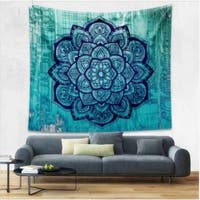 Boho Style Home Living Tapestry Beautiful Flower Living Room/Bedroom Decor 180 X 230cm