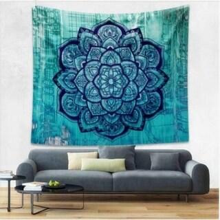 Boho Style Home Living Tapestry Beautiful Flower Living Room/Bedroom Decor 180 X 230cm