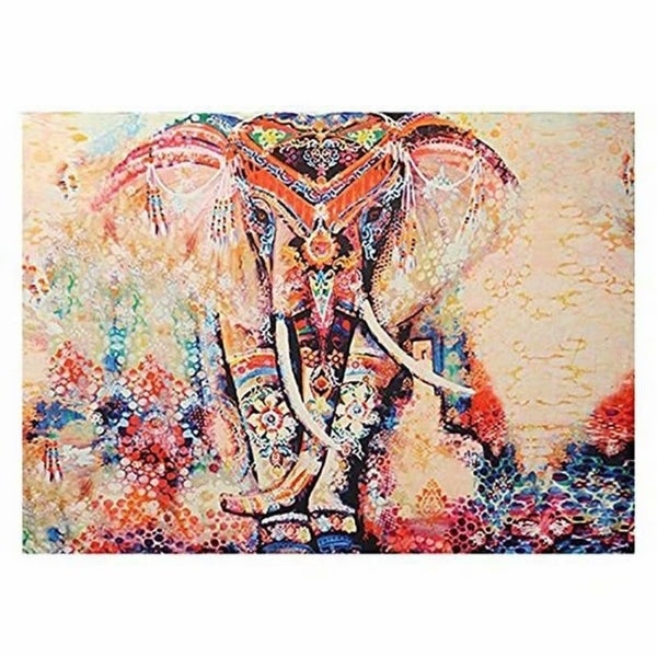Shop Popular Boho Style Home Living Tapestry Elephant Wall Decor For