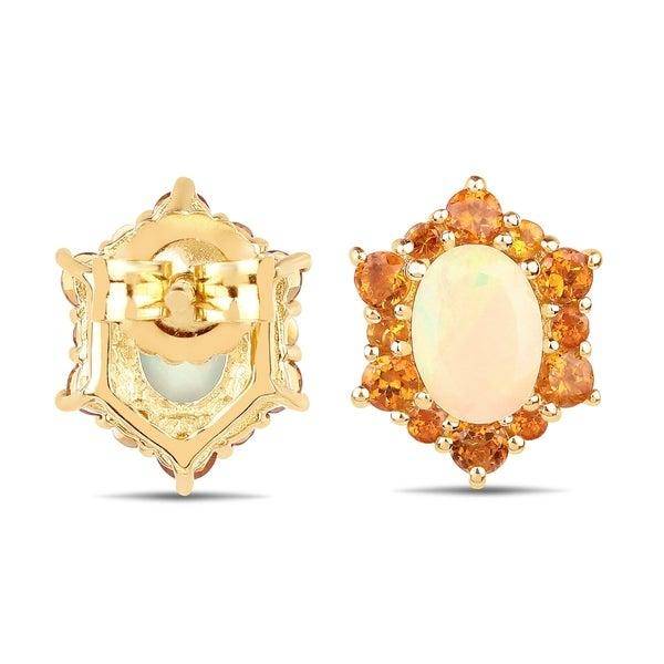 Sparkling Oval Moissanite Drop//Dangle Earring Women Jewelry 14K Gold Plated
