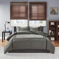Intelligent Design Owen Reversible Printed Comforter Set (2-Color Option)