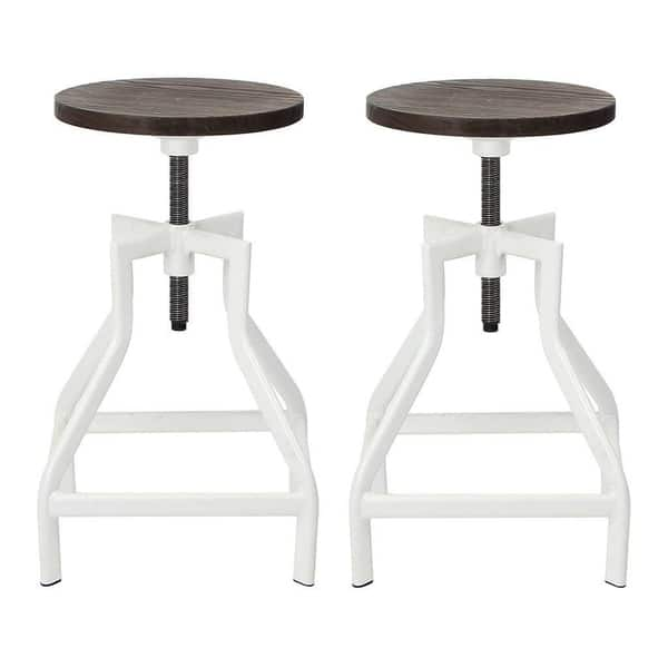 Surprising Shop Viva Home 2 Set Swivel Bar Stool Pub Height Barstool Caraccident5 Cool Chair Designs And Ideas Caraccident5Info