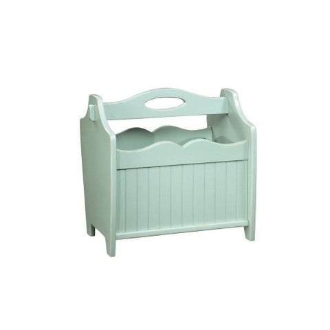 Powell Color Story Country Style Paper Rack Teal