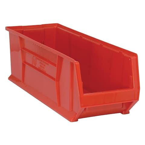 """Quantum Hulk 30"""" Red Plastic Container 29-7/8"""" X 11"""" X 10"""" - 4 Pack"""