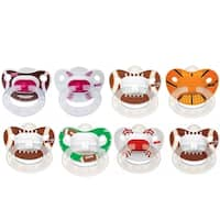 NUK Sports Orthodontic Pacifier 8 Pack, 6-18 Months