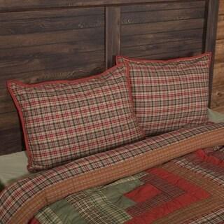 VHC Christmas Red Holiday Rustic & Lodge Bedding Gatlinburg Sham