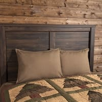 VHC Evergreen Green Holiday Rustic & Lodge Bedding Sequoia Sham