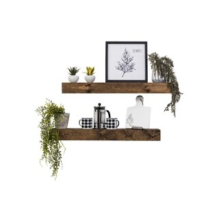 Artisan Haute Floating Shelves, Set of 2 - N/A