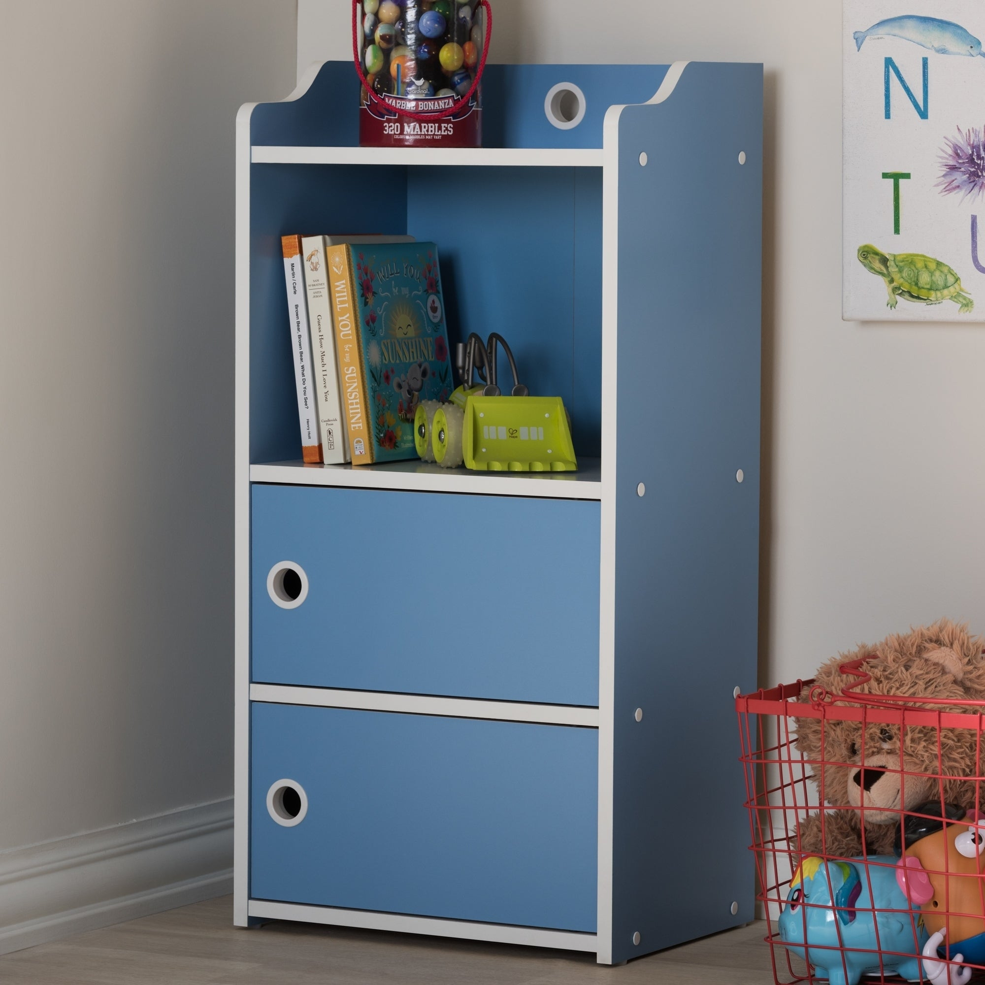 Buy Blue, Bookcases and Shelves Kids\' Storage & Toy Boxes Online at ...