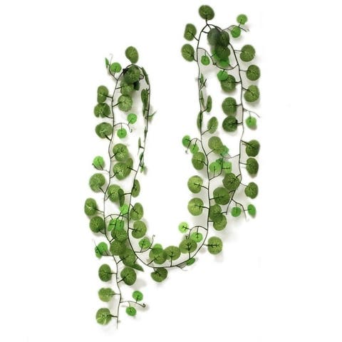 ALEKO Artificial Bright Wild Ivy Garland Decoration 7.5' Pack of 10