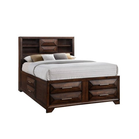 Simmons Casegoods Anthem Bed With USB And Four Storage Drawers
