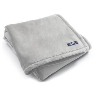 IZOD Plush Solid Throw