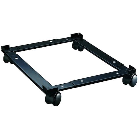 Hirsh Adjustable File Caddy for Vertical File Cabinets, Black