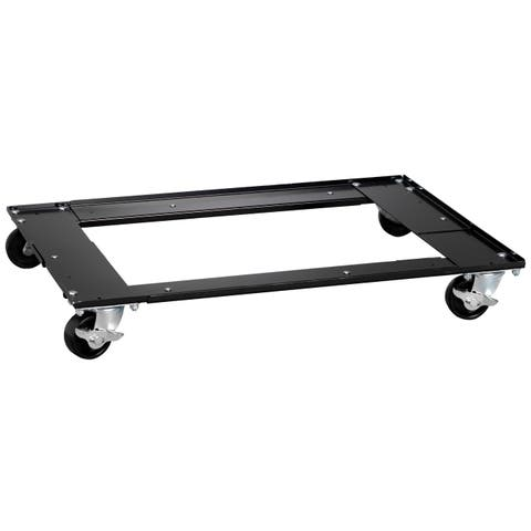 Hirsh Adjustable Cabinet Dolly for Lateral File Cabinets, Black