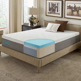 Slumber Solutions Signature 14-inch King-size NRGel Memory Foam Mattress