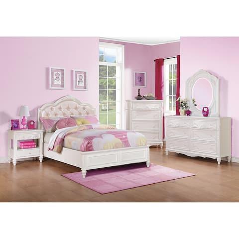 Caroline White Bed