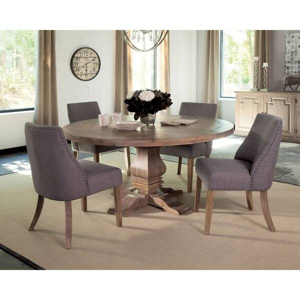 Shop Carbon Loft Nightingale Round Formal Dining Table ...