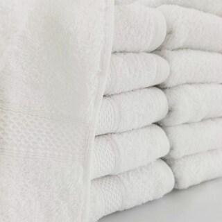 Homestead Textiles 500 GSM Hospitality Bath Towels (Set of 12)