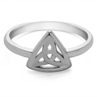 TwoBirch CelticTrinity Knott Ring in 14k Gold