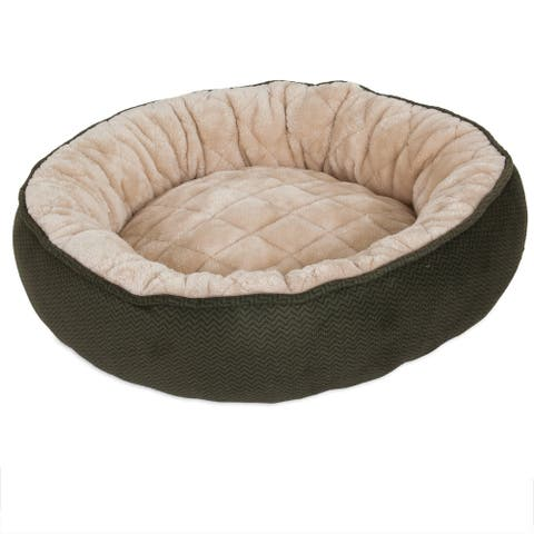 Aspen Pet Round Quilted Lounger