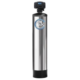 Arsenic Whole House Water Filtration System Treats up to 4 Bathrooms - Silver