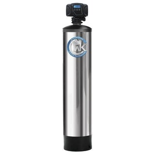 Oxygen Injection for Removal of Iron, Sulfur and Manganese System Treats up to 6 Bathrooms - Silver - N/A