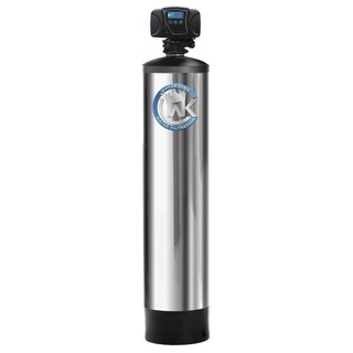 Whole House Fluoride Filtration System Treats up to 6 Bathrooms - Silver - N/A
