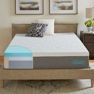 Slumber Solutions Signature 12-inch King-size NRGel Memory Foam Mattress