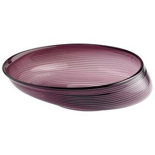 Cyan Design Purple Glass Small Oyster Bowl