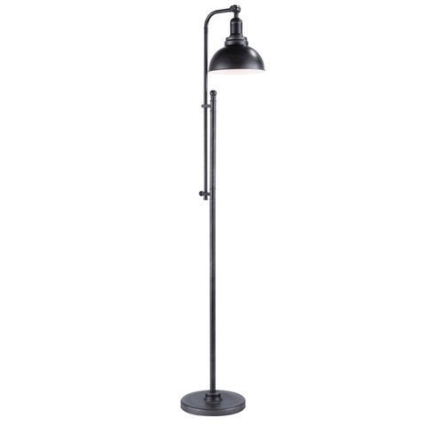 Emery Adjustable Metal Floor Lamp