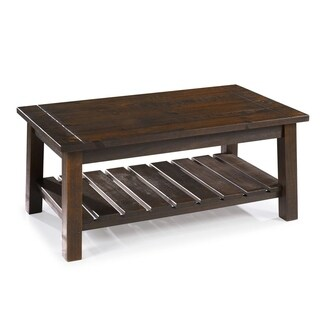 The Beach House Design SeaBrook Pine Coffee Table