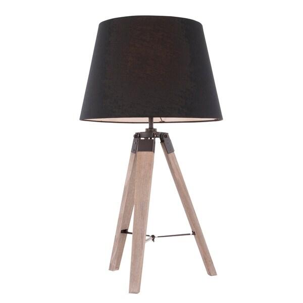 Shop Compass Mid Century Modern Tripod Table Lamp On Sale Free