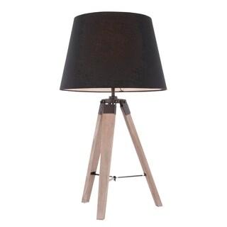 Compass Mid-Century Modern Tripod Table Lamp