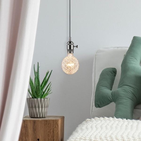 40W Designer Vintage Edison Crystalina Incandescent Light Bulb, E26