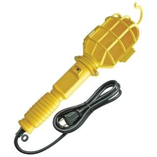Handheld Work Light, 6ft Power Cord, Yellow Finish