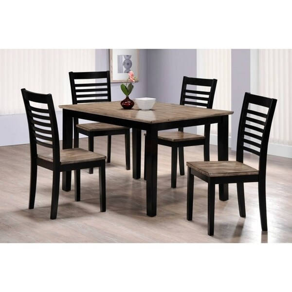 Simmons Casegoods East Pointe 5 Piece Dining Room Set