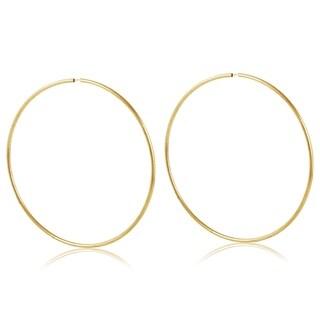 Link to Gold Plated Gold 65mm Hoop Earrings Similar Items in Earrings