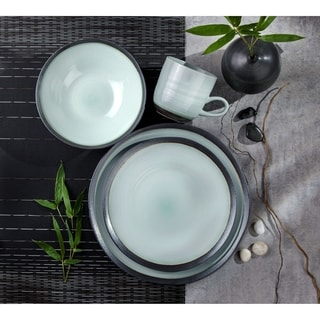 Link to Euro Ceramica Diana 16 Piece Modern Dinnerware Set (Service for 4) Similar Items in Dinnerware
