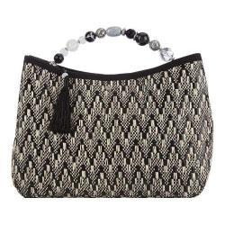 Women's Cappelli Straworld BAG1082 Tassel Handbag Black