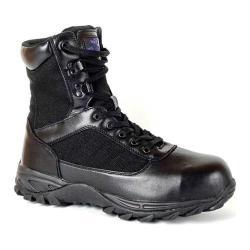 Men's Mt. Emey 6506 Composite Toe Work Boot Black Leather/Canvas